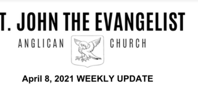 Weekly Update - April 8, 2021