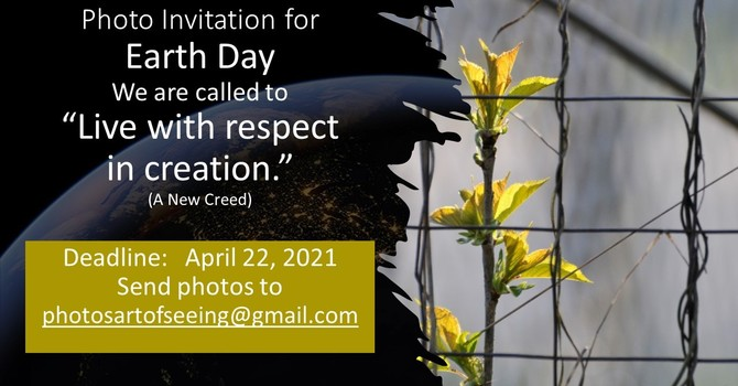 PHOTO INVITATION - FOR EARTH DAY image