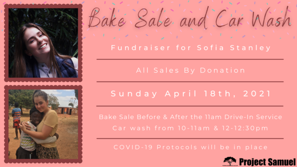 Bake Sale and Car Wash