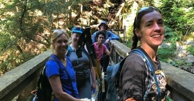 Hiking Group Gathering