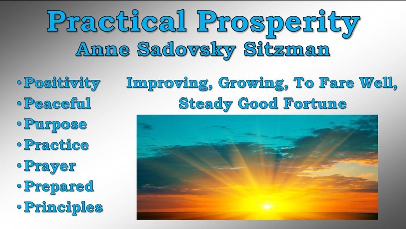Practical Prosperity