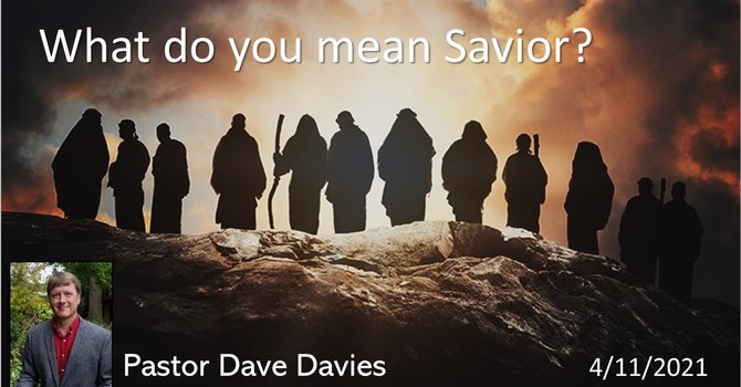 What Do You Mean Savior