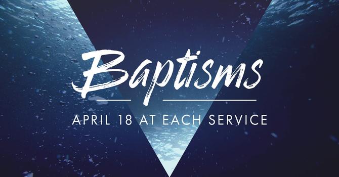 Baptisms this Sunday