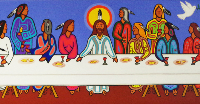Gathered around Christ's table and within God's reign