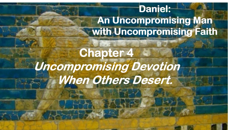 Uncompromising Devotion When Others Desert
