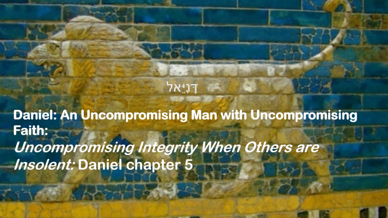 Uncompromising Integrity When Others are Insolent