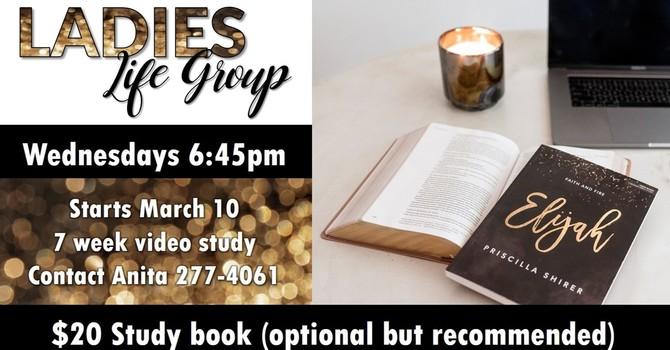 Ladies Bible Study on Elijah