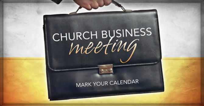 Church Conference Business Meeting
