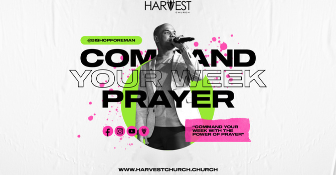 Command Your Week Prayer