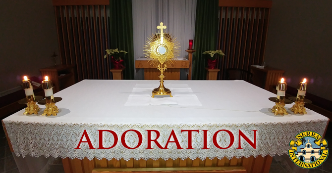 Adoration for Vocations - Serra Club of Kamloops