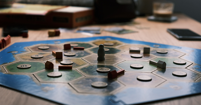 Settlers of Catan: Let me tell you a story...