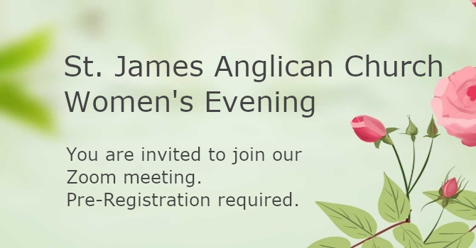 St. James Anglican Church Women's Evening