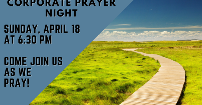 Corporate Prayer Night