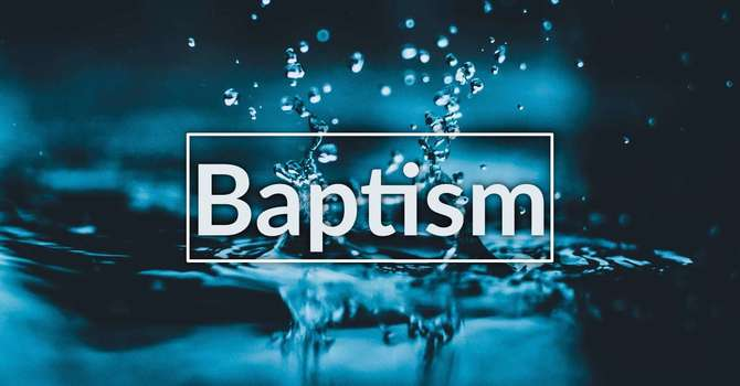 Why Do I Need to be Baptised? image