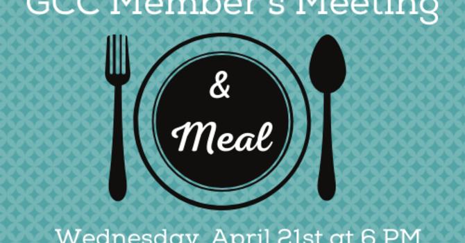 Member's Meeting & Meal