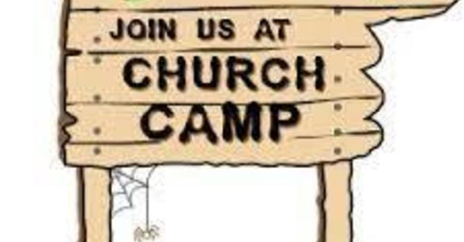 Church Camp:  Camp Masterson