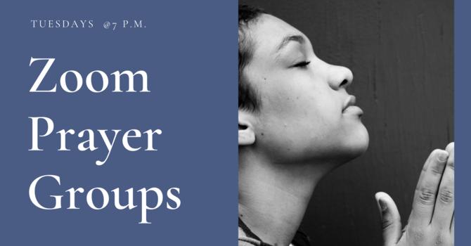Zoom Prayer Groups