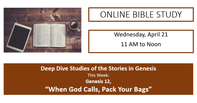Weekly Online Bible Study