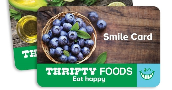 Thrifty Foods Smile Card Program Extended to June 15th image