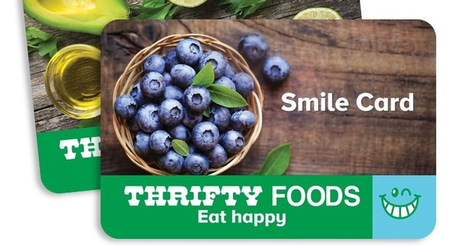 Thrifty Foods Smile Card Program Extended to June 15th