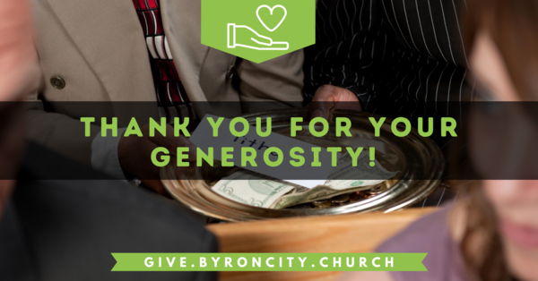 Your Generosity Makes Ministry Happen