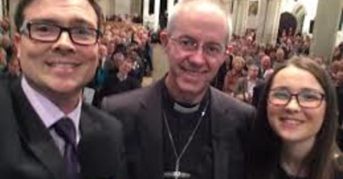 Archbishop invites young Christians to spend 'a year in God's time' image
