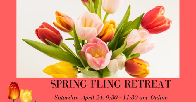 Spring Fling Retreat  image