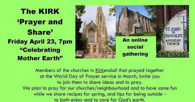 "'KIRK"" Prayer and Share"