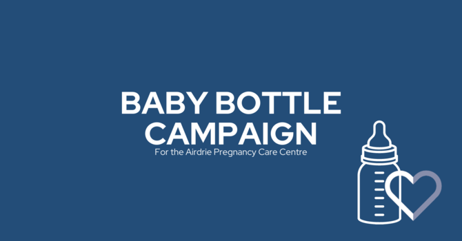 Baby Bottle Fundraiser 2021
