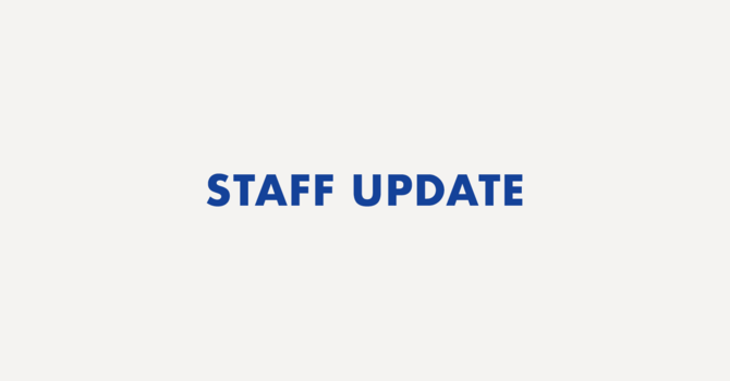 Staff Update image