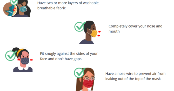Mask Requirements for In-Person Worship image