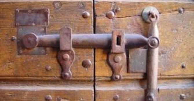 Resurrection Narrative/ Hidden Behind Locked Doors