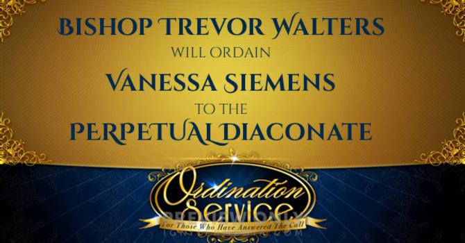 ORDINATION OF VANESSA SIEMENS
