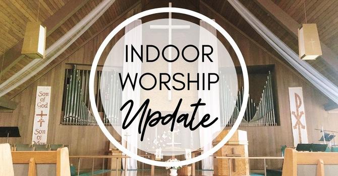 Indoor Worship Update image