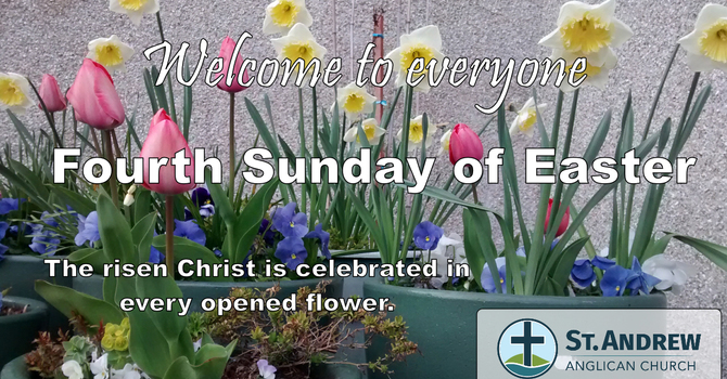 April 25, 2021 On-Line Sunday Service image
