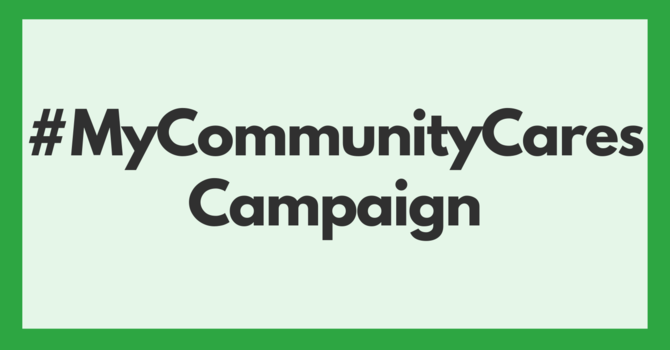 MY COMMUNITY CARES CAMPAIGN image