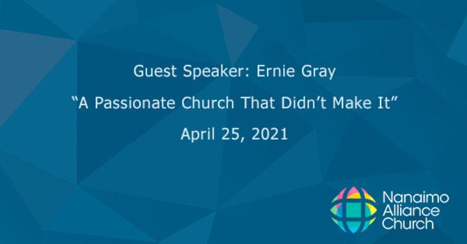 A Passionate Church That Didn't Make It