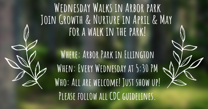 Wednesday Walks in Arbor Park image