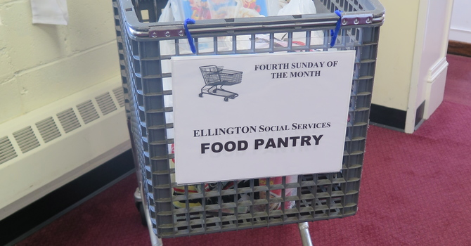 Food Bank Shopping Cart image