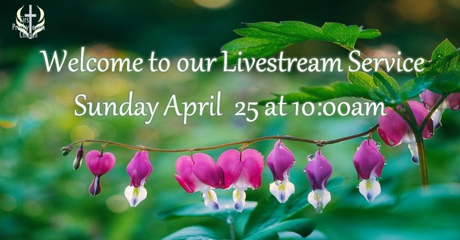 Sunday April 25 Livestream Service