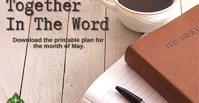 Together In The Word - May image