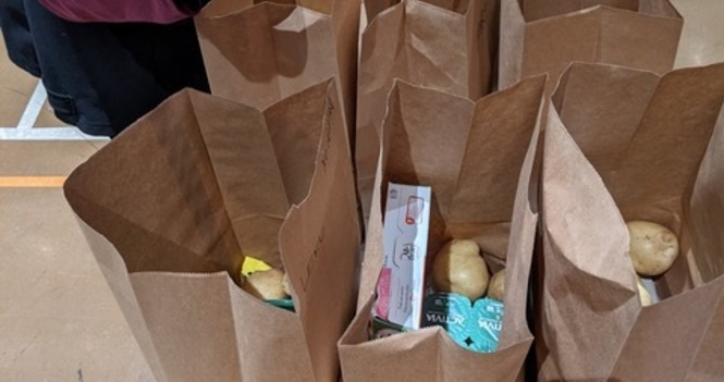 Video: North Park Grocery  Hamper Program