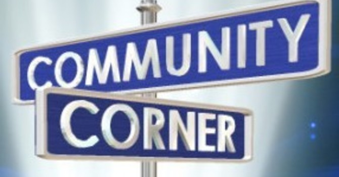 Community Corner for May 2