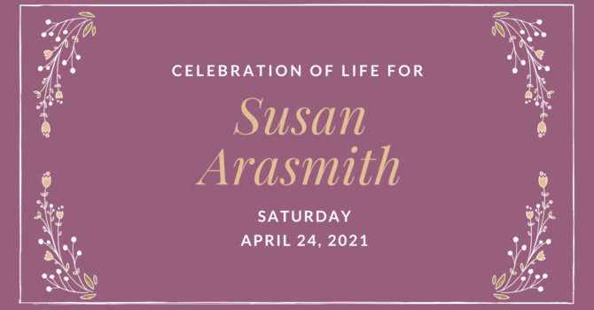 Celebration of Life for Susan Arasmith image