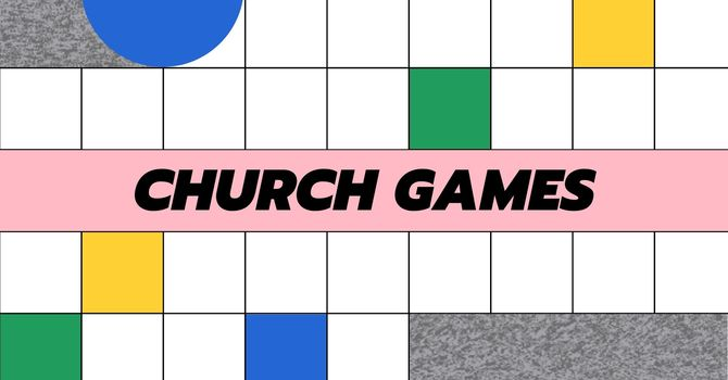 Youth Church Games