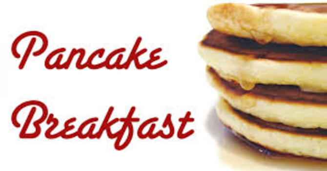 Pancake Breakfast - change of date in October image