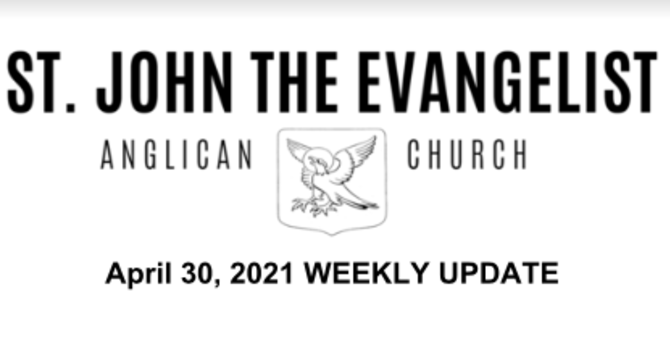 Update - April 30, 2021