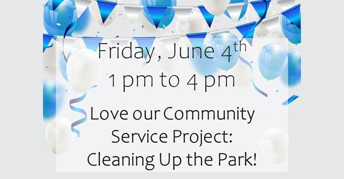 75th Anniversary Celebration: Park Clean up