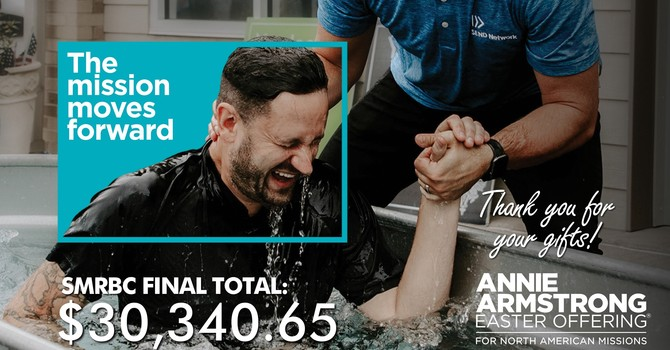 SMRBC gives $30,341 to Annie Armstrong Easter Offering for North American Missions image
