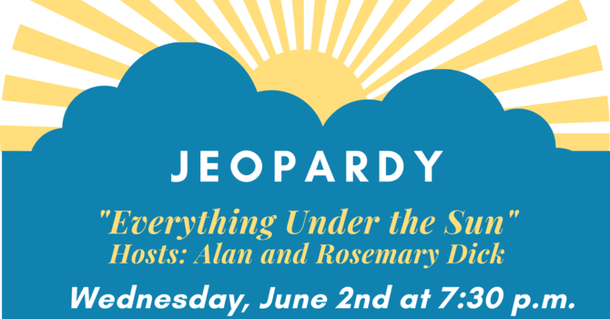 """Jeopardy, """"Everything Under the Sun"""""""